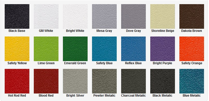 Coatings on paint colors